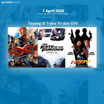 The Fate of The Furious akan Tayang Malam ini di GTV 7 April 2020 | Jadwal TV
