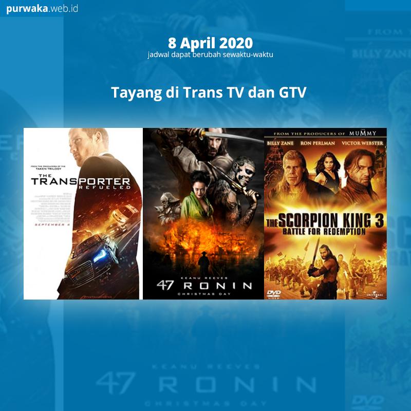 47 Ronin Tayang Hari ini di Global TV, 8 April 2020| Jadwal TV