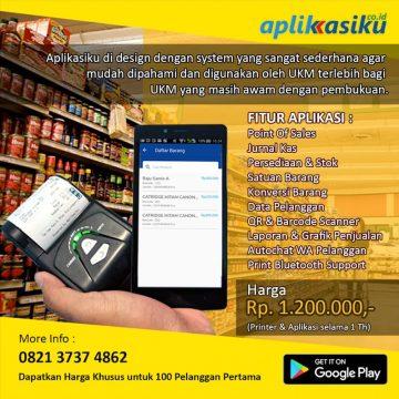 Layanan Aplikasi Keuangan Online UKM