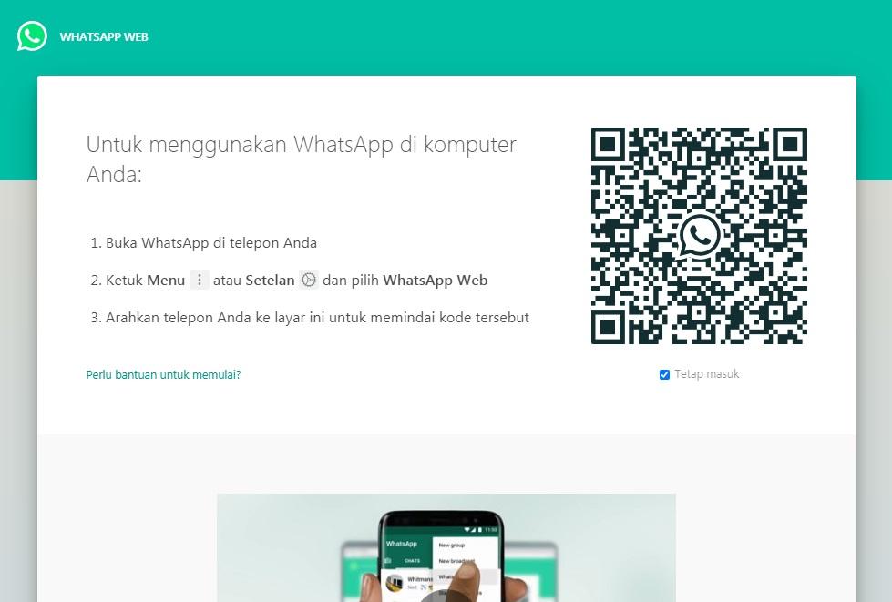 BERHASIL Tidak Bisa Scan QR Whatsapp Web
